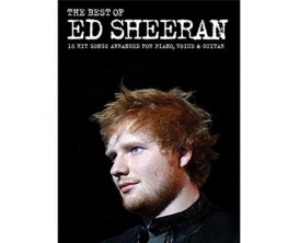 The Best of Ed Sheeran - 16 Hit Songs for Piano, Voice & Guitar - Wise Publications