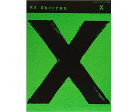 Ed Sheeran X (Piano,Vocal Guitar) - Hal Leonard