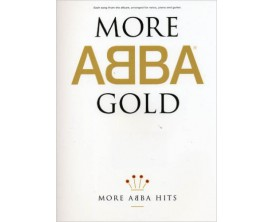 More Abba Gold Hits (Voice, Piano, Guitar) - Wise Publications