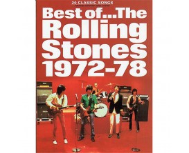 Best of... The Rolling Stones 1972-78 (Piano, Voice & Guitar) - Wise Publications