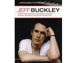 LIBRAIRIE - Jeff Buckley ...arranged for piano - Wise Publications