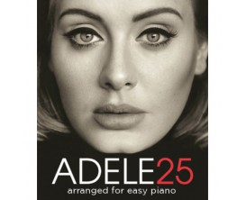 Adele 25 - Eleven Songs Arranged for Easy Piano - Wise Publications