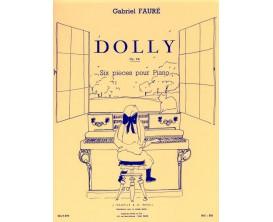 Gabriel Fauré - Dolly Op:56 (6 pièces pour piano) - A. Leduc
