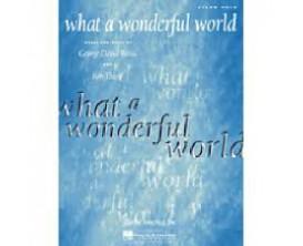 What a Wonderful World (Piano Solo) - G. D. Weiss / B. Thiele - Hal Leonard