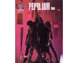 Pearl Jam Ten (Guitar record versions) - Hal Leonard