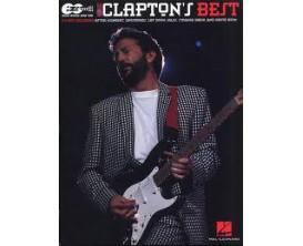 Eric Clapton's Best (Guitar tab) - Hal Leonard