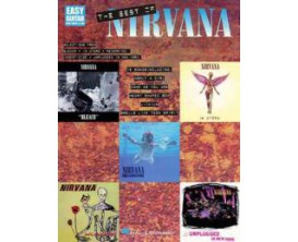 LIBRAIRIE - The Best of Nirvana (Easy guitar) - Hal Leonard
