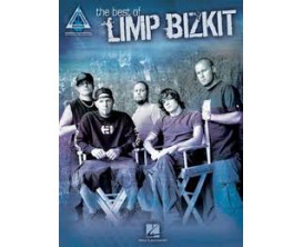 LIBRAIRIE - Limp Bizkit The Best Of (Recorded versions guitar) - Hal Leonard