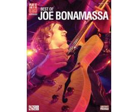 Joe Bonamassa - Best Of - Cherry Lane. Guitare.