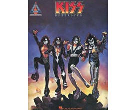 Kiss Destroyer (Recorded Guitar Versions) - Hal Leonard