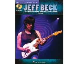 Jeff Beck Guitar Signature Licks (Avec CD) - Hal Leonard