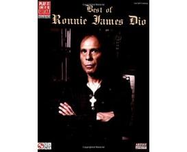 Best of Ronnie James Dio (Guitar, Vocal) - Cherry Lane Hal Leonard