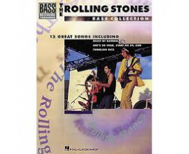 LIBRAIRIE - The Rolling Stones Bass Collection (Recorded bass versions) - Hal Leonard