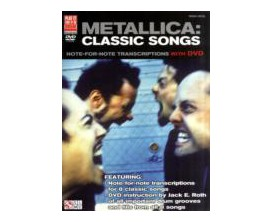 Metallica : Classic Songs (Drum, Vocal) Avec DVD - Cherry Lane Music Company