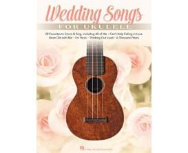 Wedding Songs for Ukulele - Hal Leonard