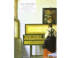 LIBRAIRIE - W.A. MOZART Reine de la Nuit, arrangement H.G. Heumann - (Ed. Lemoine)