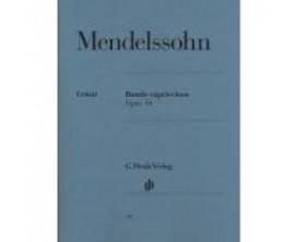 LIBRAIRIE - Mendelssohn Rondo Capriccioso Opus 14 - G. Henle Verlag