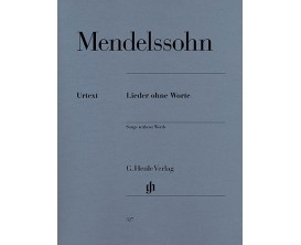 "LIBRAIRIE - Mendelssohn ""Songs without words"" - Henle Verlag"