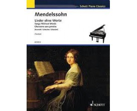 LIBRAIRIE - Mendelssohn Chansons sans Paroles - Schott Piano Classics