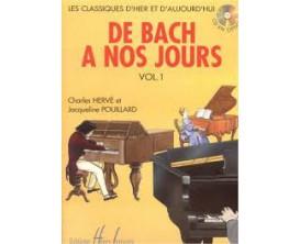 LIBRAIRIE - De Bach à nos Jours Vol. 1A - Ch. Hervé et J. Pouillard - Ed. Lemoine
