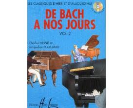 LIBRAIRIE - De Bach à nos Jours Vol. 2A - Ch. Hervé et J. Pouillard - Ed. Lemoine