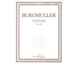 LIBRAIRIE - Burgmuller 25 Etudes Op. 100 - Ed. Lemoine