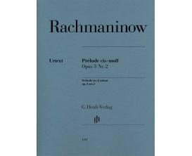 LIBRAIRIE - Rachmaninow - Prélude Do Dies Mineur Opus 3 No 2 - Henle Verlag