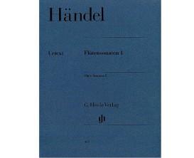 LIBRAIRIE - Händel Flute Sonatas 1 - G. Henle Verlag