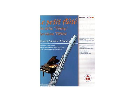 LIBRAIRIE - Le Petit Flûté Volume 1 (Avec CD) - Annick Sarrien-Perrier - Ed. R. Martin