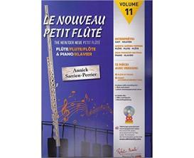 LIBRAIRIE - Le Nouveau Petit Flûté Volume 11 (Avec CD) - Annick Sarrien-Perrier - Ed. R. Martin