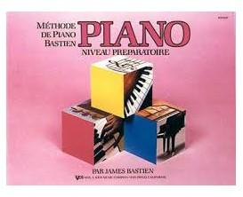 LIBRAIRIE - Méthode Piano Bastien, niv. préparatoire - (Ed.Carisch)