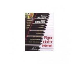 LIBRAIRIE - Le Piano pour adulte débutant, 2 CD - T. Masson et H. Nafilyan (Ed. Lemoine)