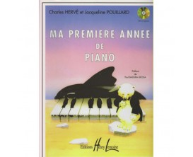LIBRAIRIE - Ma première année de Piano - C. Hervé J. Pouillard (Ed. Lemoine)
