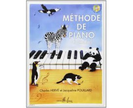 LIBRAIRIE - Méthode de piano Débutants - Charles Hervé et Jacqueline Pouillard - Ed. Lemoine
