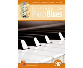 LIBRAIRIE - Pratique du Piano Blues, Collection 3D (Avec CD + DVD) - Ed. Play Music