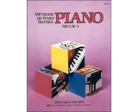 LIBRAIRIE - Méthode Piano Bastien, niveau 1 - (Ed.Carisch)
