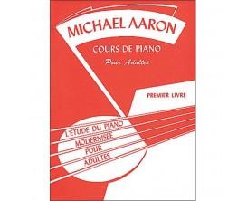 LIBRAIRIE - L'étude du Piano Modernisée pour Adultes Premier Livre, M.Aaron - (Ed. Alfred)