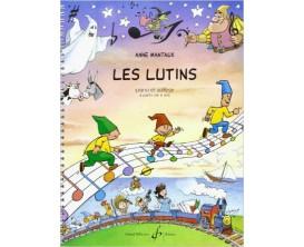 LIBRAIRIE - Les Lutins - Piano et Solfège à partir de 6 ans - Anne Manteaux - Ed. Billaudot