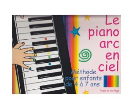 LIBRAIRIE - Le Piano Arc En Ciel - Méthode enfants dès 4 ans - Muller / Simmerling - Ed Combre