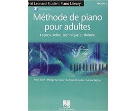 LIBRAIRIE - Méthode de Piano pour Adultes (leçons, solos, technique et théorie, Vol. 2 - F. Kern P. Keveren B. Kreader M. Rejin