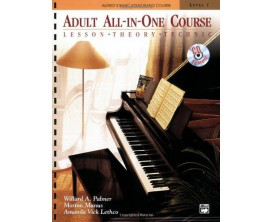 LIBRAIRIE - Adult All-in One Course - Lesson Theory Technic (Avec CD) - W. A. Palmer, M. Manus, A. V. Lethco - Alfred Publishin