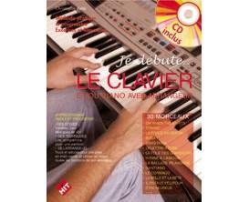 LIBRAIRIE - Je débute... Le clavier ou le piano avec arrangeur, CD - C. Astié (Ed. Hit)