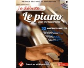 LIBRAIRIE - Je débute... Le Piano - Jouer et S'accompagner (Avec CD) - H. Philippe-Gérard - Hit Diffusion