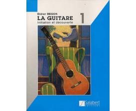 LIBRAIRIE - La Guitare Initiation et Découverte, D. Begon - (Ed. Salabert)