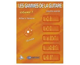 LIBRAIRIE - Les Gammes de la Guitare Vol. 1 (CD inclus) - Philippe Ganter - I.D. Music