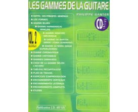 LIBRAIRIE - Les Gammes de la Guitare Vol. 2 (CD inclus) - Philippe Ganter - I.D. Music