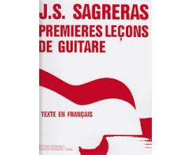 Julio S. Sagreras - Premières leçons de guitare (Francais) - Ed. Musicales Transatlantiques