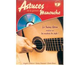 Astuces de la Guitare Manouche Volume 1 (Avec CD) - D. Roux, A.Debarre, S. Daussat - Ed. Coup de Pouce