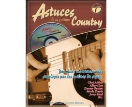 Astuces de la Guitare Country Volume 1 (Avec CD) - D. Roux, L. Miqueu - Ed. Coup de Pouce