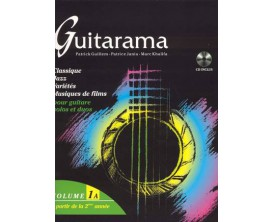 LIBRAIRIE - Guitarama Volume 1A - P. Guillem, P. Jania, M. Khalifa - Hit Diffusion